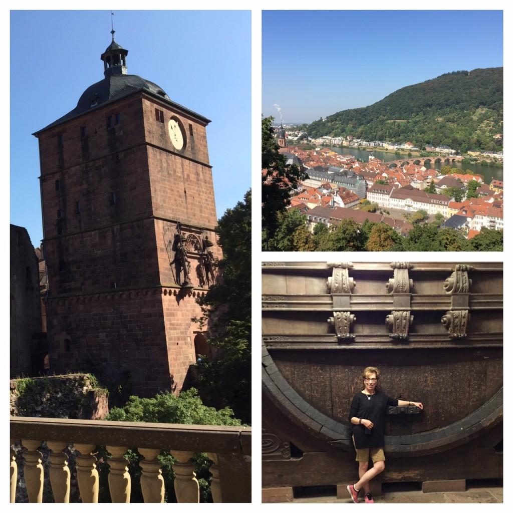Heidelberg Castle; Heidelberg; Germany; Viking River Cruise; Rhine River
