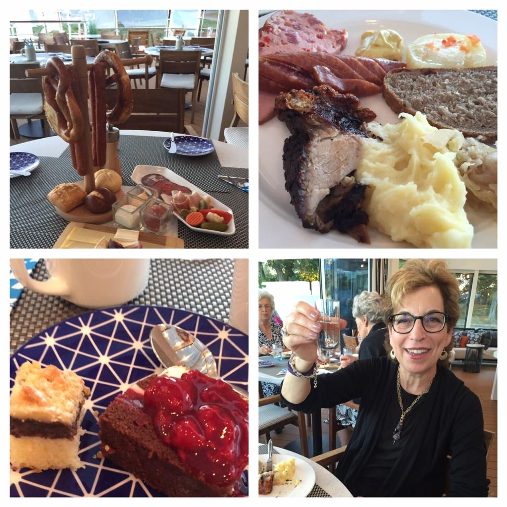 German food; Viking River Cruises; Rhineland Discovery; Rhine river; Germany; boomer travel