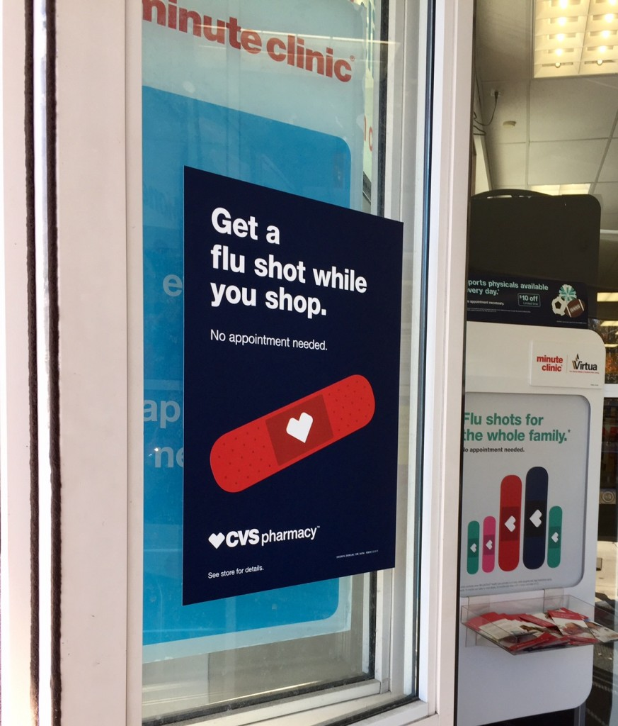 flu shot; flu vaccine; CVS; CVS Minute Clinic; CVS Pharmacy