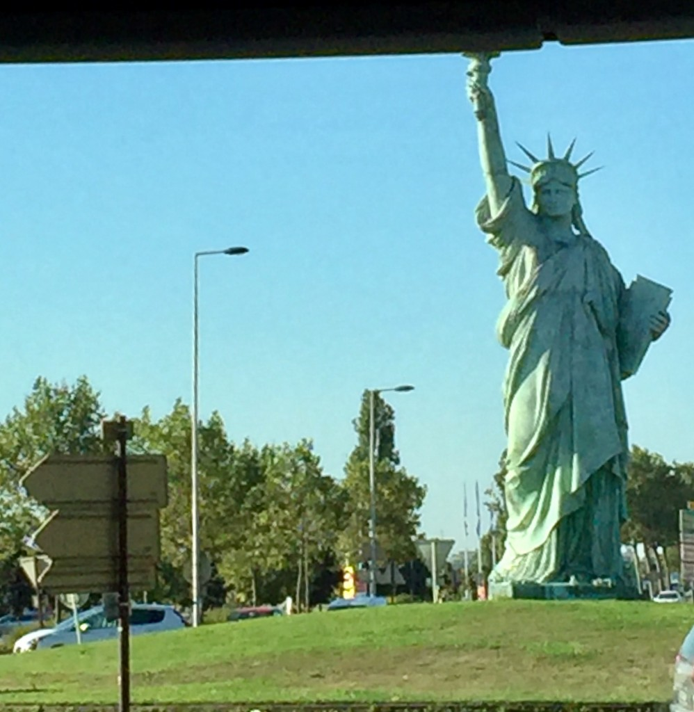 Statue of Liberty; Colmar, France; Viking River Cruise; river cruises; Bartholdi