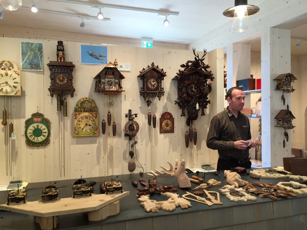 cuckoo clocks; Germany; Black Forest
