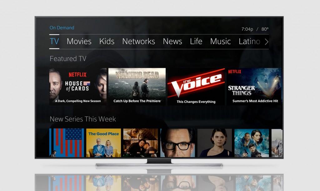Netflix; Xfinity; Comcast; Big TV