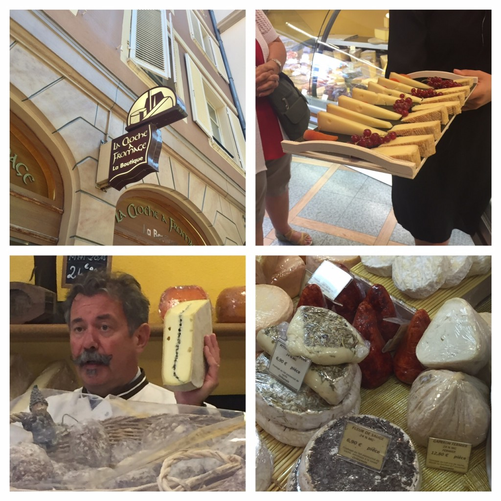 Strasbourg; La Cloche a Fromage and Alsace cheese