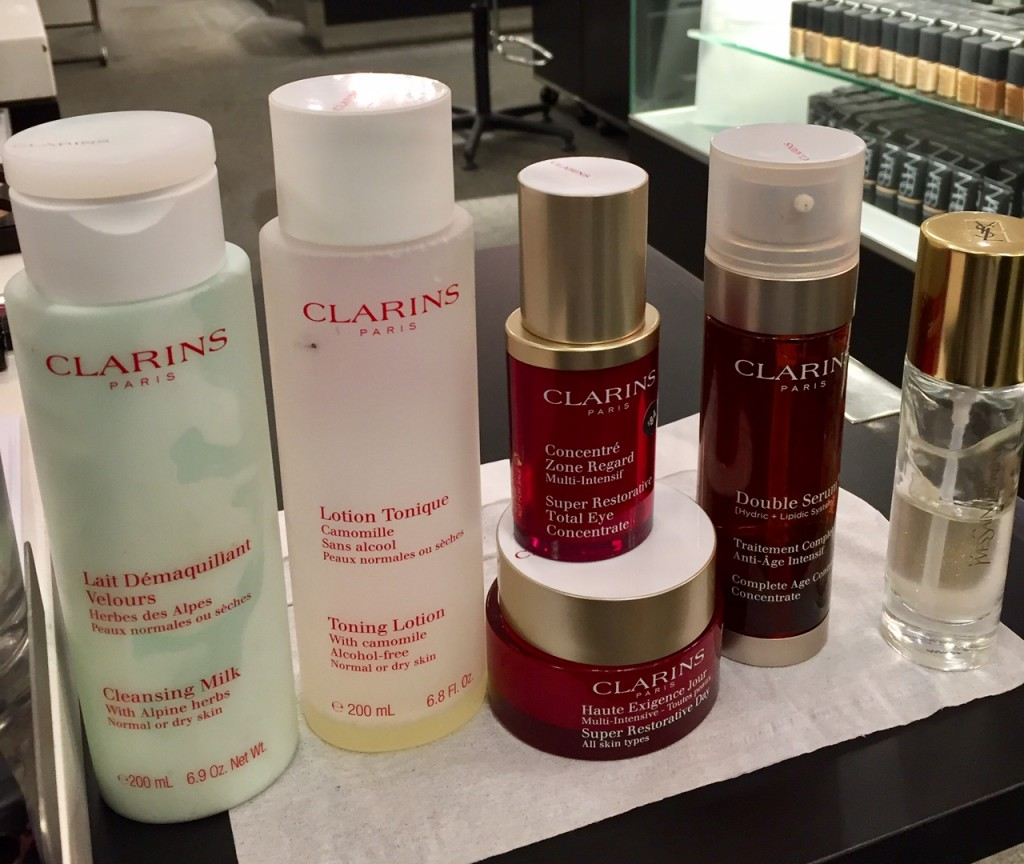 beauty makeover for post 50 women; Clarins; Nordstrom Beauty Stylist
