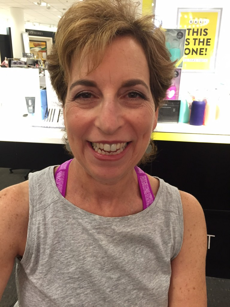 beauty makeover for post 50 women; beauty; life after 50; boomer beauty; Nordstrom beauty stylist