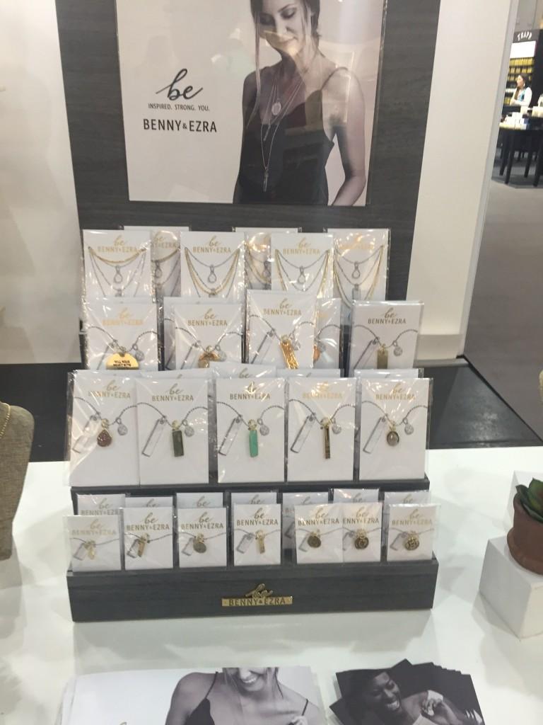 Benny and Ezra jewelry; holiday gifts; NYNOW
