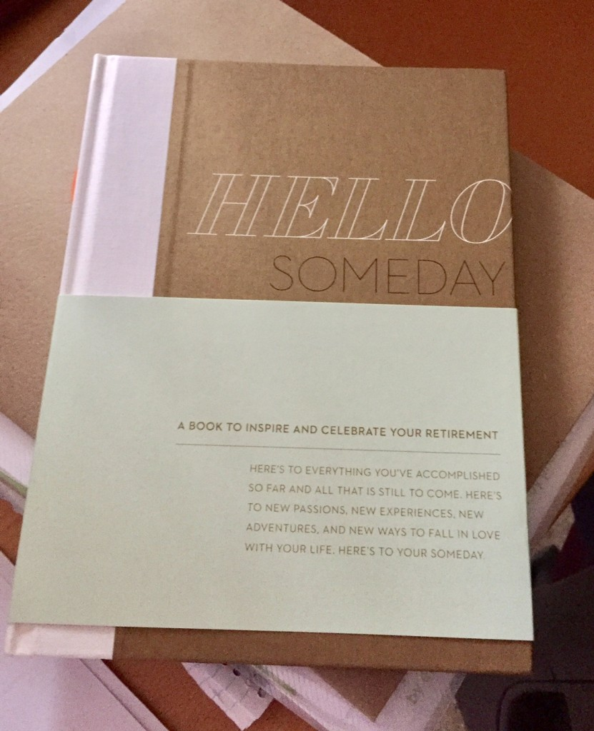 Hello Someday; Compendium; NYNOW; retirement; holiday gifts