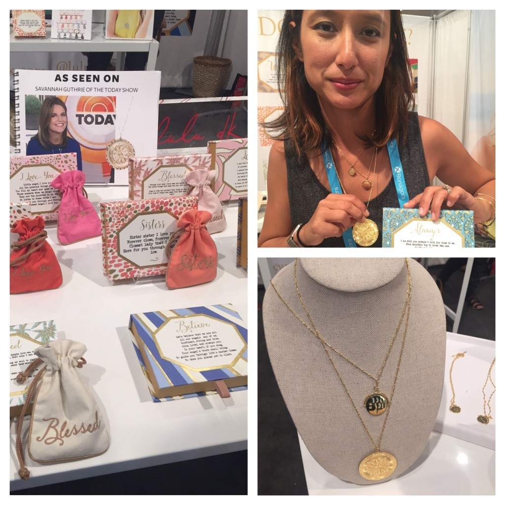 luludk jewelry; holiday gifts; NYNOW