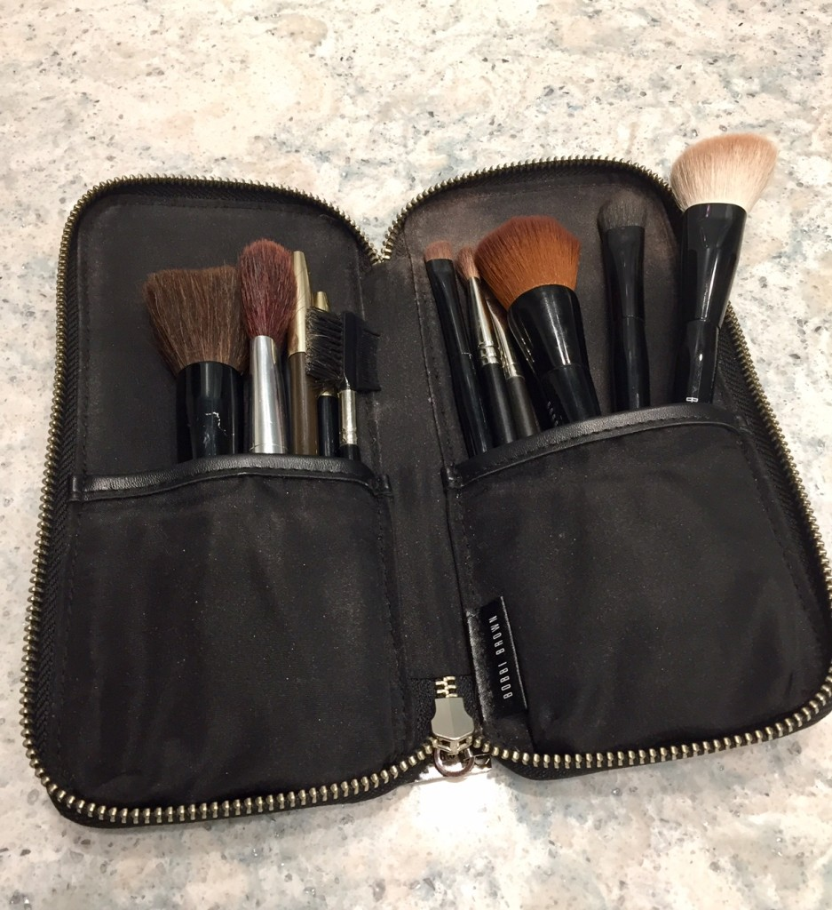 makeup for post 50 women; beauty makeover for post 50 women; Bobbie Brown makeup brushes; Nordstrom beauty stylist