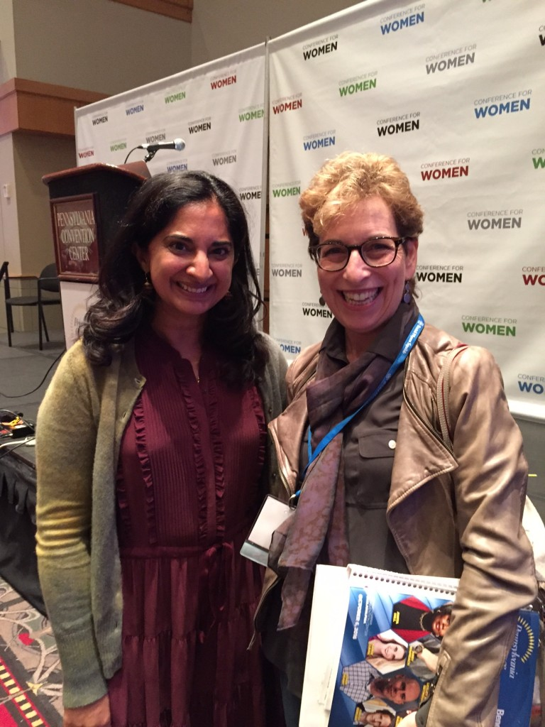 #PENNWOMEN; 2016 PA Conference for Women; Mallika Chopra; Intent.com