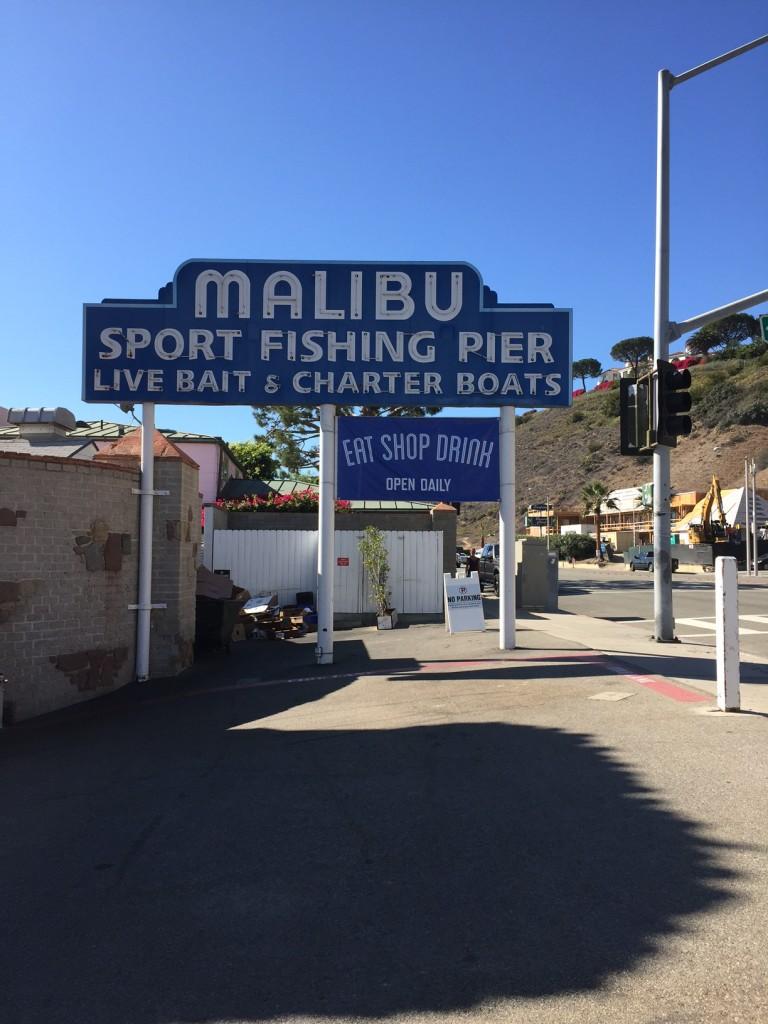 California Malibu Pier; Malibu California