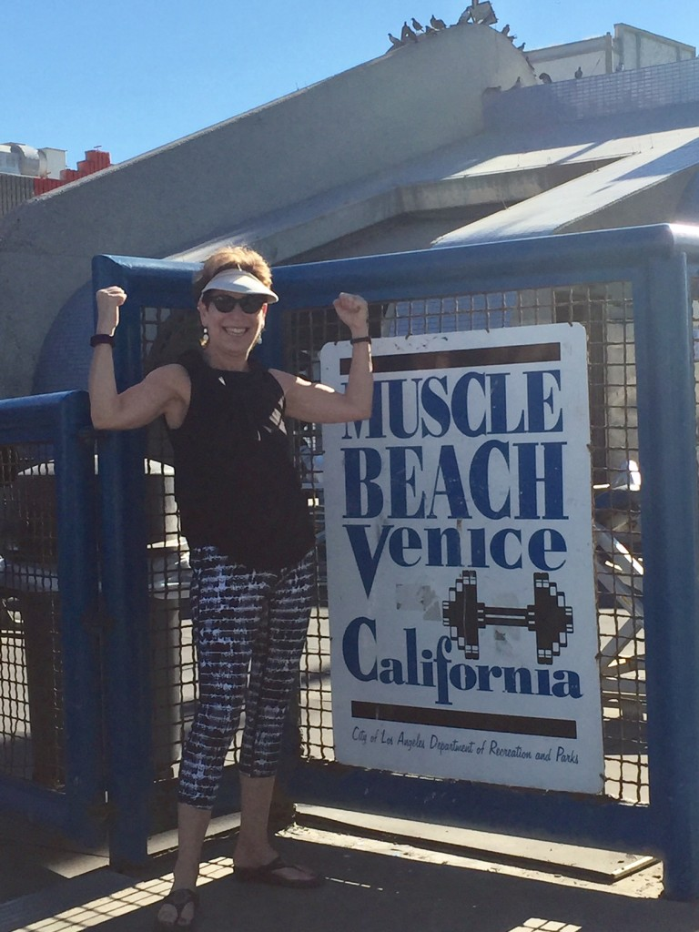 California Muscle Beach; Venice Beach, California; Muscle Beach; boomer travel