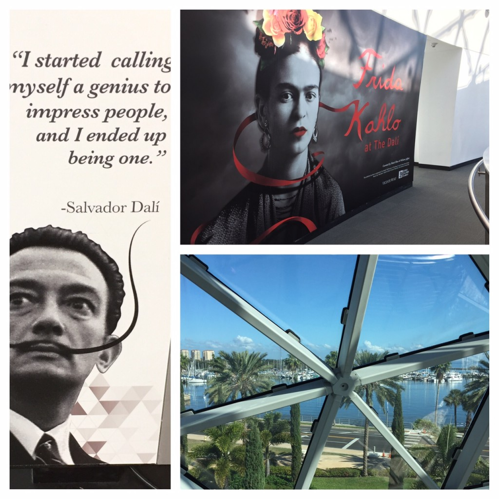 The Dali Museum; St. Pete's vibrant downtown