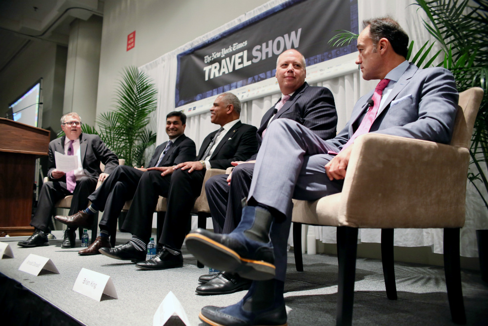 The New York Times Travel Show; travel; boomer travel