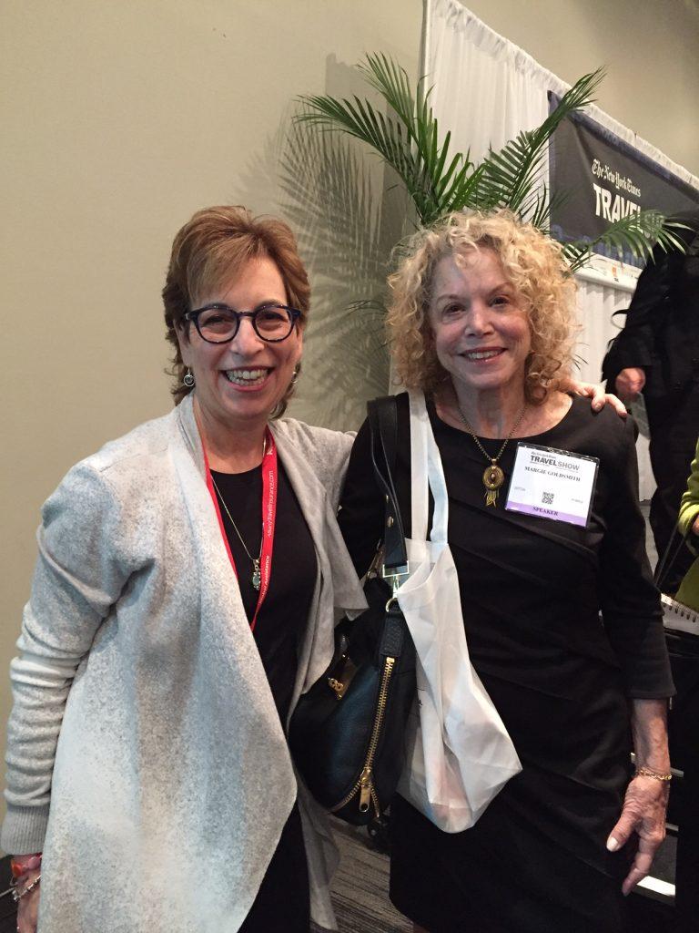 Margie Goldsmith; The New York Times Travel Show; boomer travel