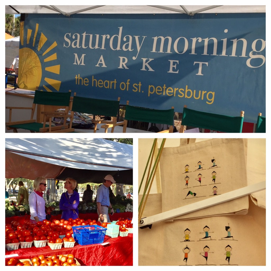 Saturday Morning Market in St. Pete's Vibrant Downtown; Florida