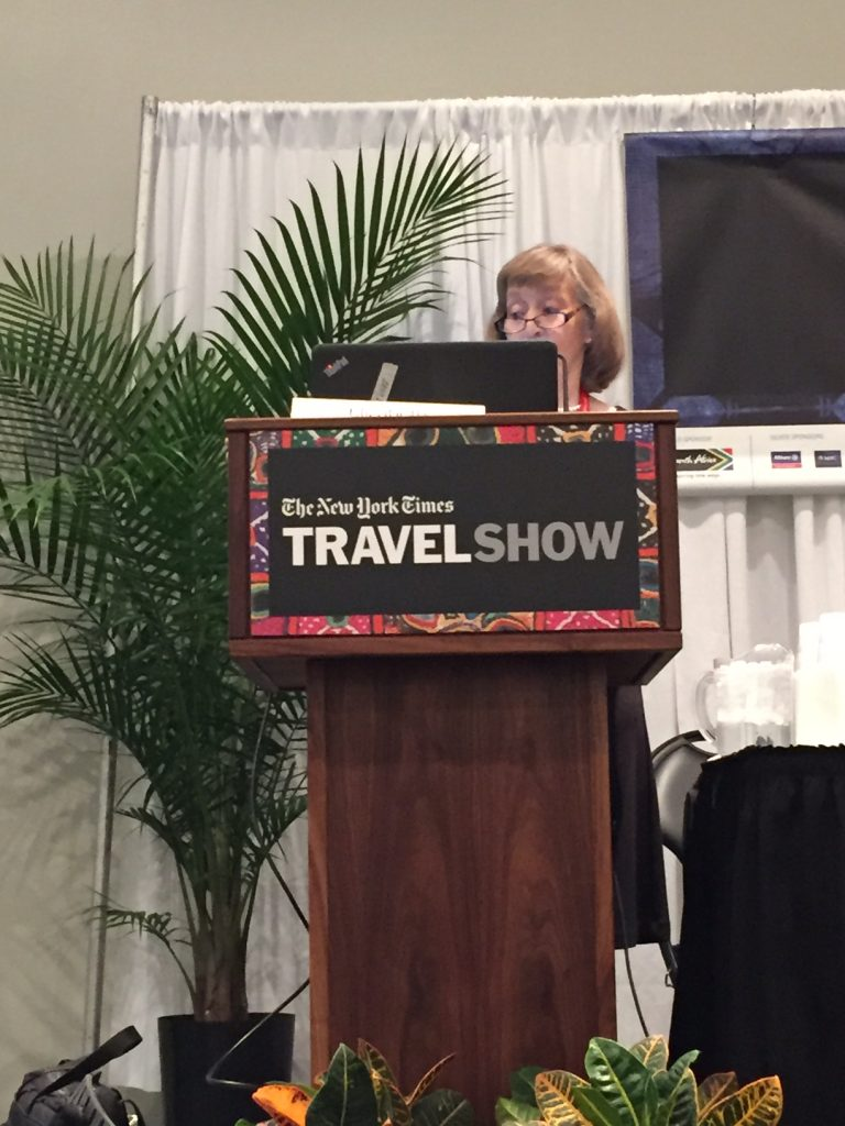 The New York Times Travel Show; Elizabeth Harryman; boomer travel