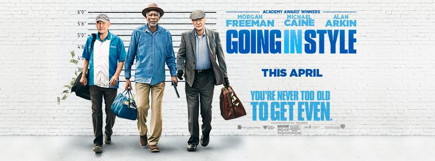 Going in Style; #GoingInStyle;