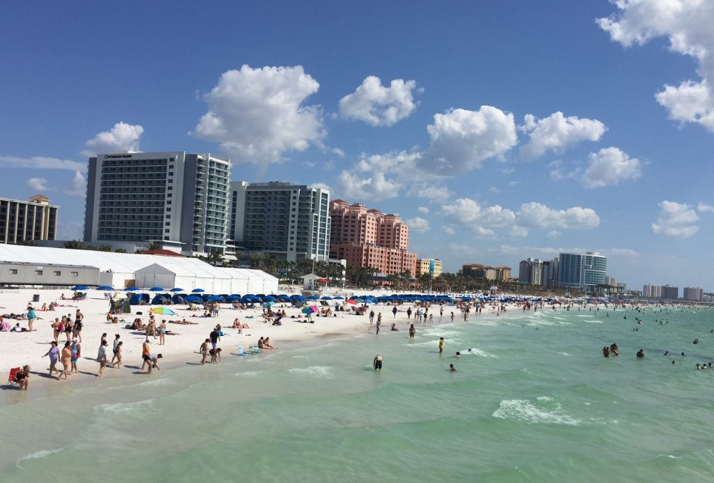 Clearwater Beach; City of Clearwater; best beach; Florida