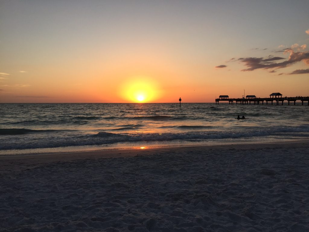 Clearwater Beach; best beaches; best sunsets; boomer travel