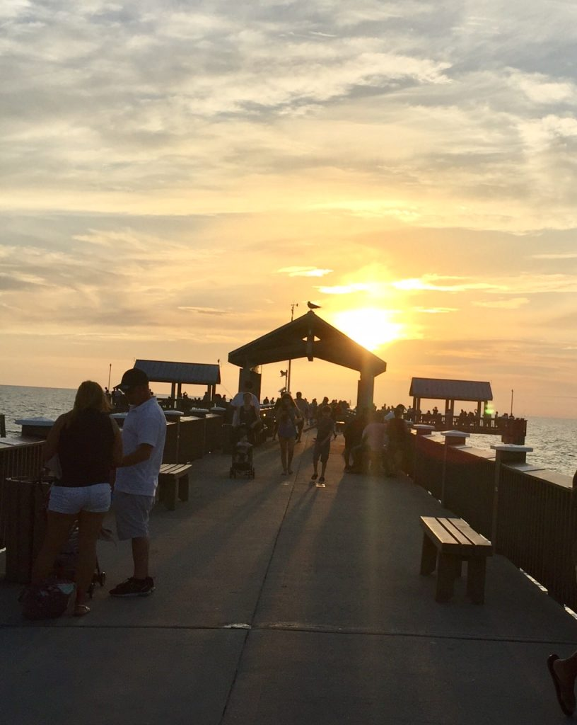 Pier 60 Clearwater Beach; Clearwater Beach; best sunsets; boomer travel