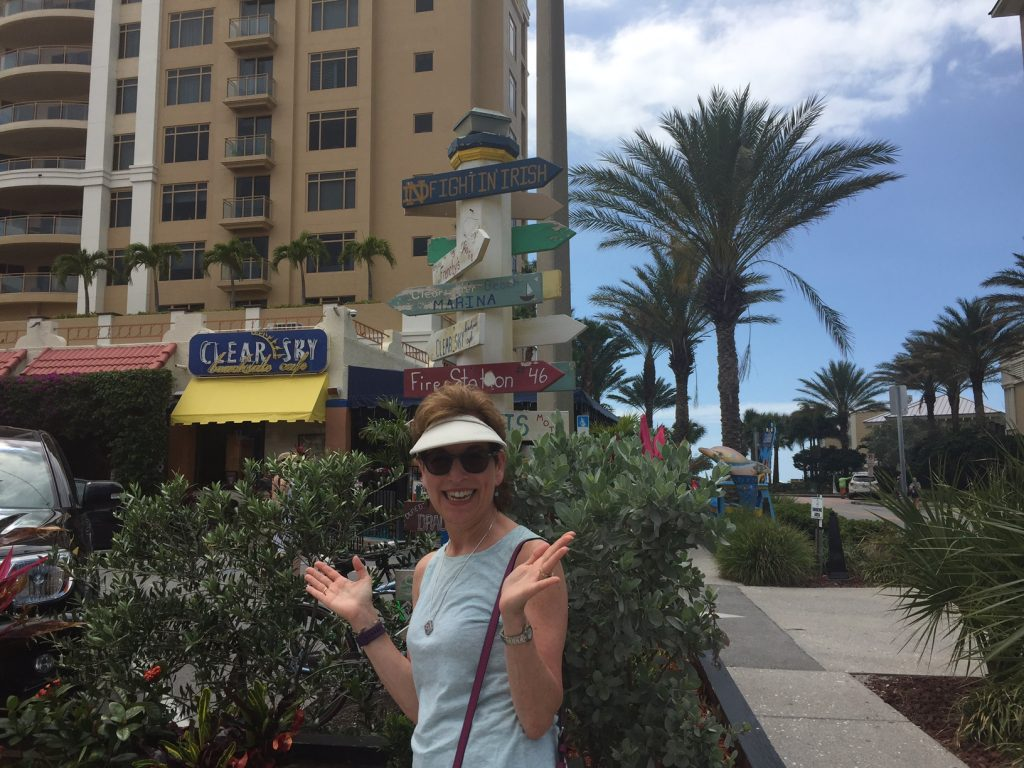 Clear Sky Cafe; Clearwater Beach; foodie; boomer travel