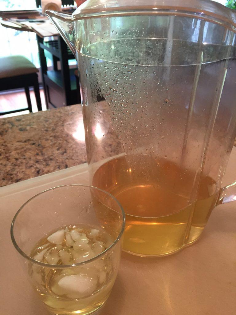 Asiago Tea; Chamomile Iced Tea; mindful cup of tea; iced tea