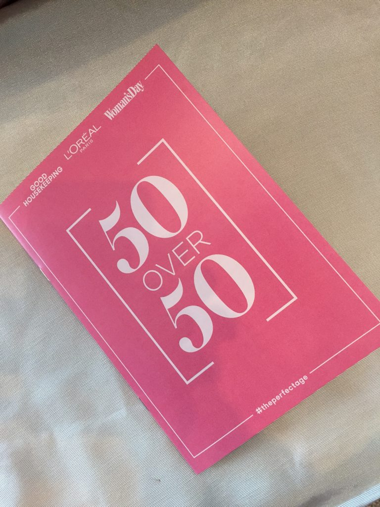 50 Over 50; #theperfectage; Good Housekeeping; L'Oreal