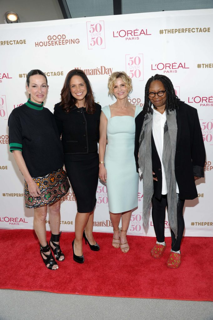 Cynthia Rowley; Soledad O'Brien; Kyra Sedgwick; Whoopi  Goldberg; #theperfectage