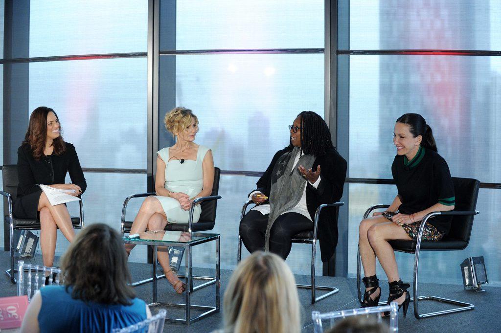 Soledad O'Brien; Kyra Sedgwick; Whoopi Goldberg; Cynthia Rowley; 50 Over 50; over 50; #theperfectage