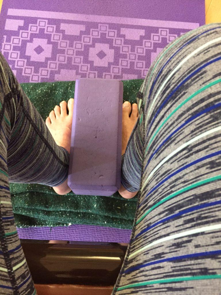 yoga; yoga blocks