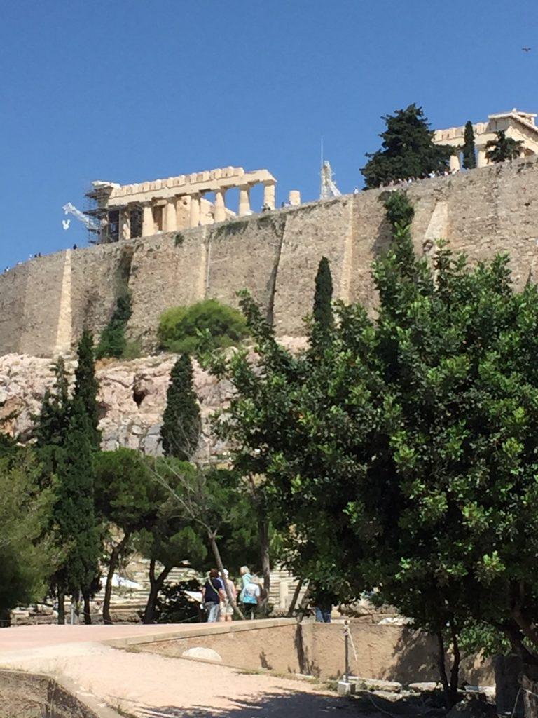 Athens; Greece; Acropolis