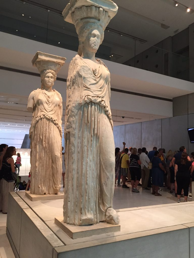 Acropolis Museum; Athens; Greece