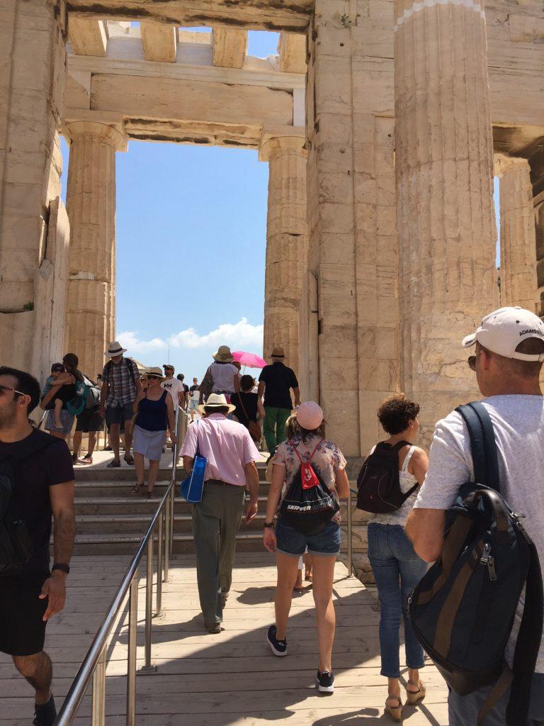 Acropolis; Athens; Greece