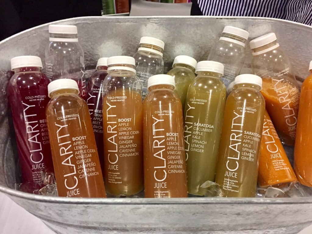 Clarity Juice; #SFFS; foodie