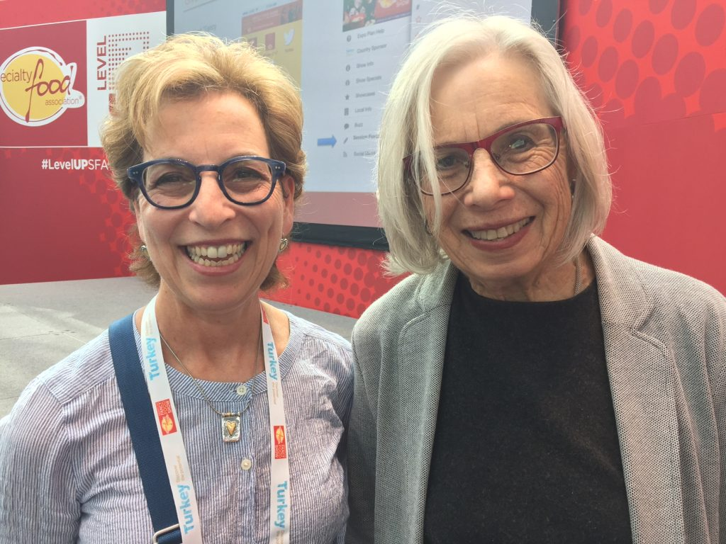 #2017SFFS; foodie; Florence Fabricant, 2017 Fancy Food Show