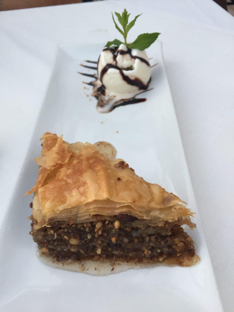 Baklava; Greek pastries; Greece; Santorini