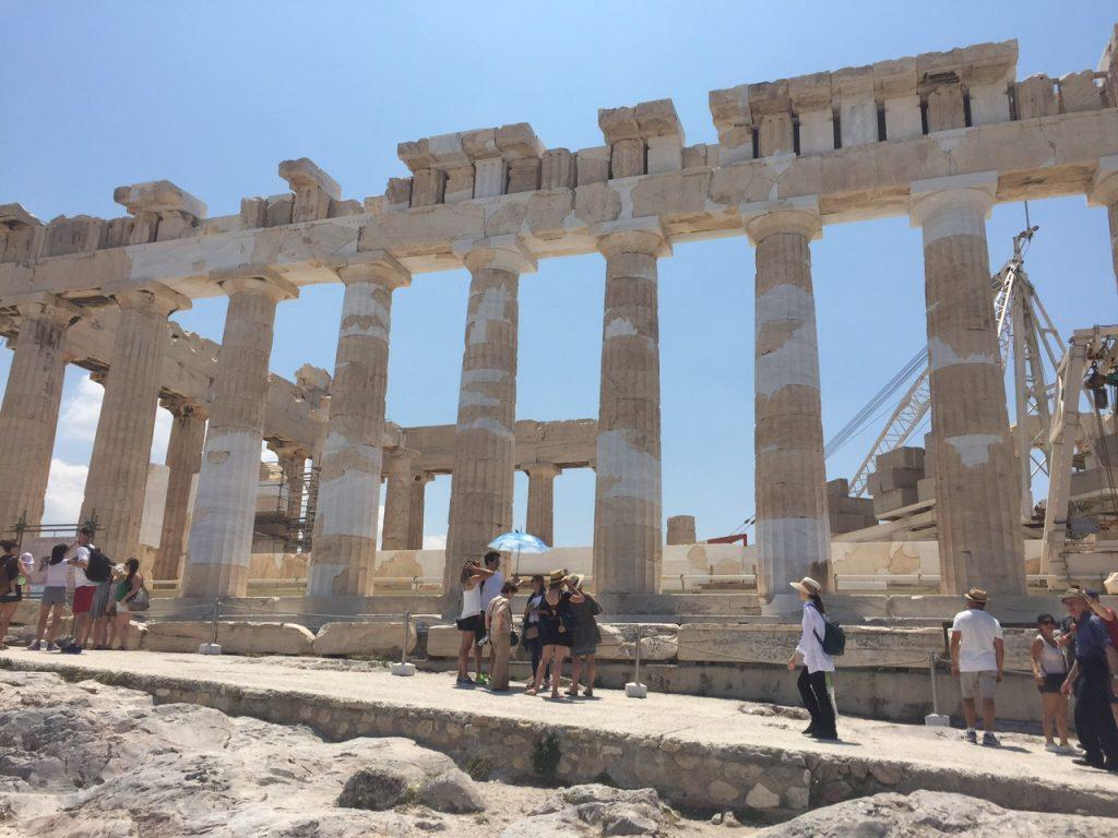 Parthenon; Acropolis; Athens; Greece