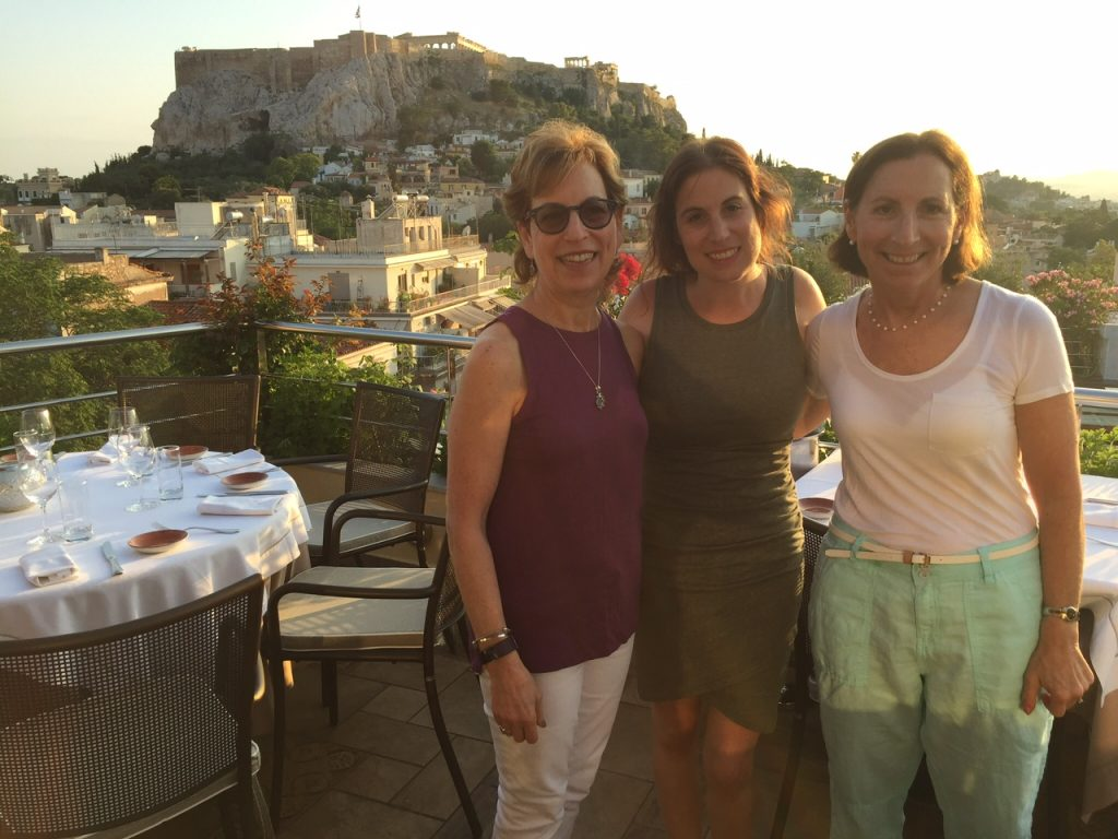 Athen's Electra Palace Hotel Rooftop Garden Restaurant; Athens; Greece; boomer travel