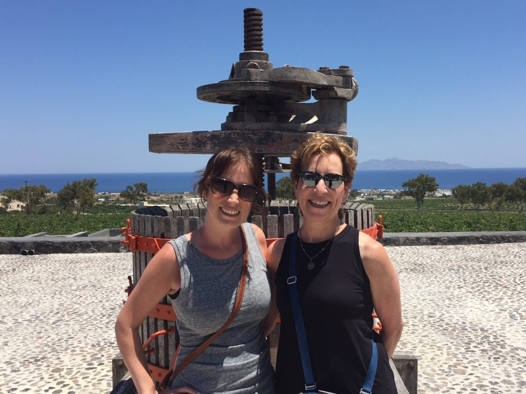 Argyros wines; Santorini Wine Trails Foodie Tour; Greece; Greek food; travel; boomer travel