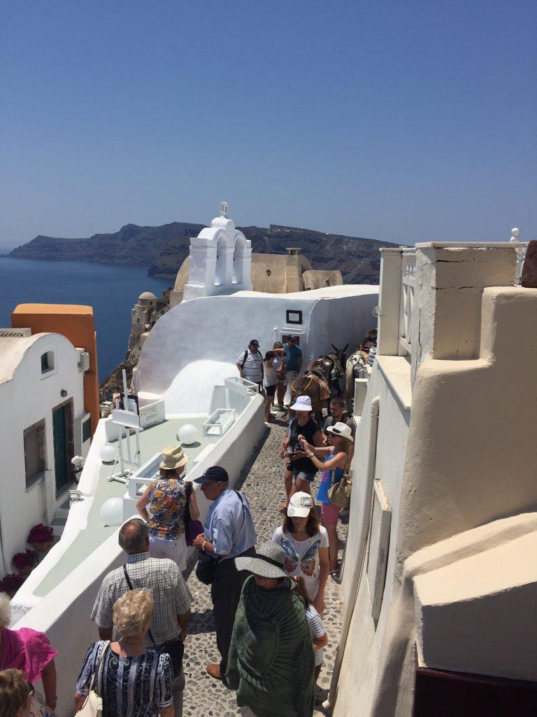 Santorini; Oia; Greece;