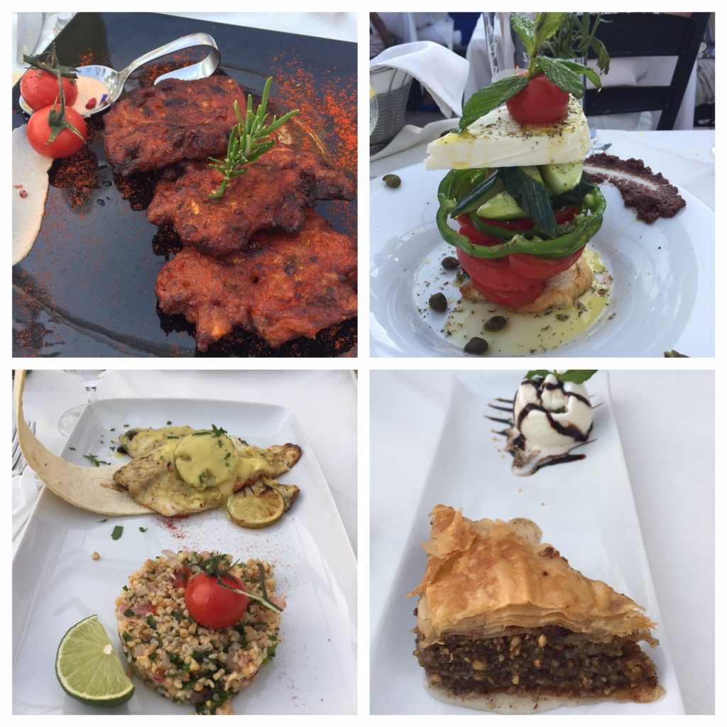 Floga restaurant in Oia, Santorini; Santorini restaurants; Oia restaurants