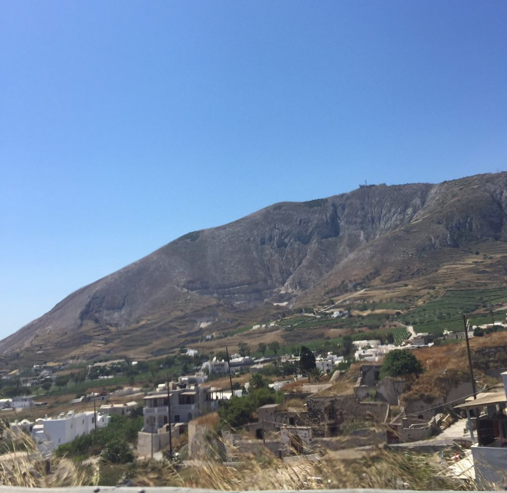 Santorini; Greece; travel; boomer travel