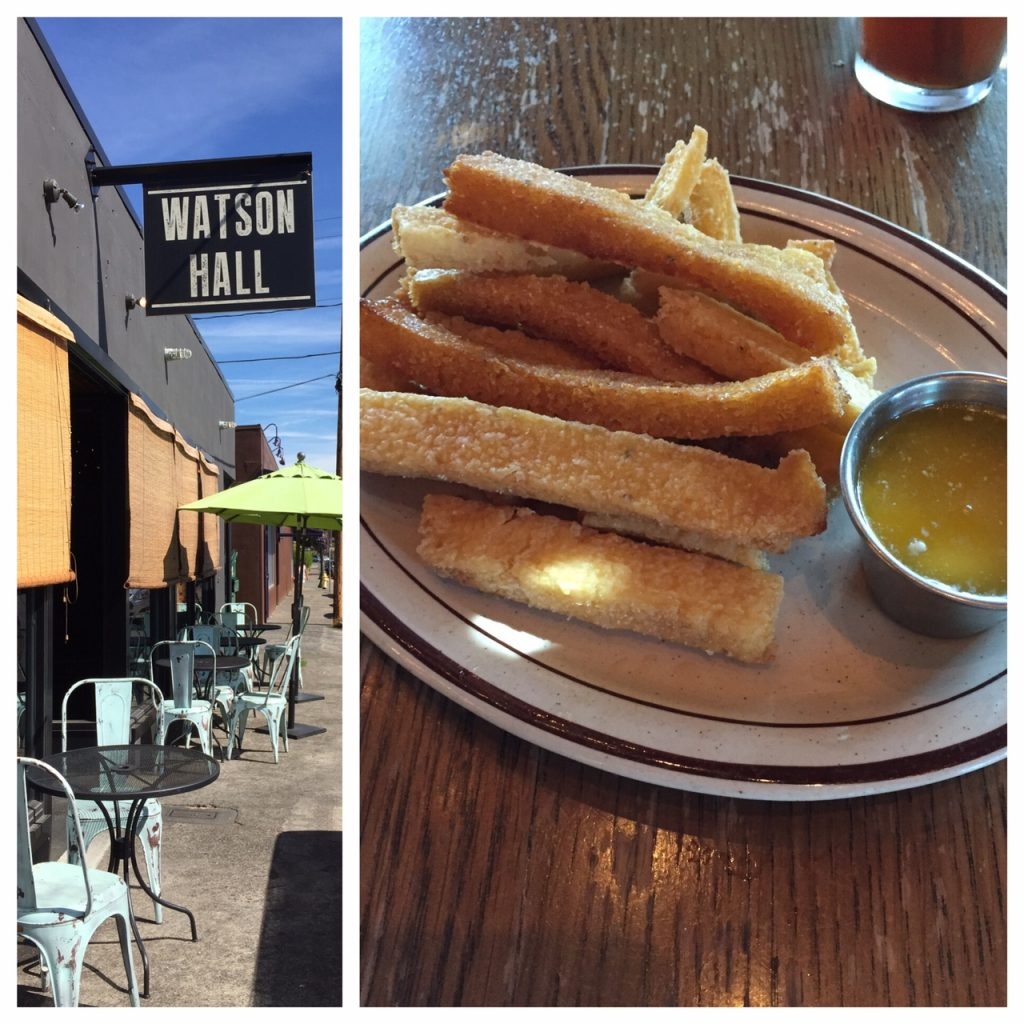 The Tualatin Valley, Willamette Valley, Oregon, boomer travel, post 50 travel, Watson Hall, polenta fries, Beaverton, Oregon