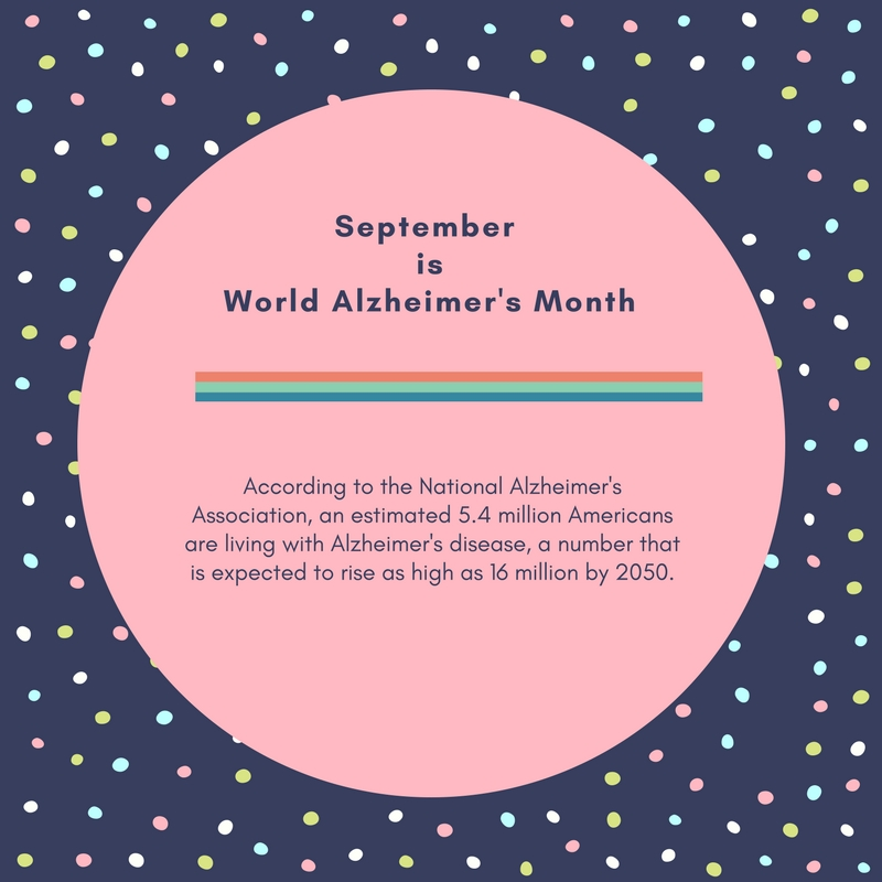 World Alzheimer's Month; Alzheimer's