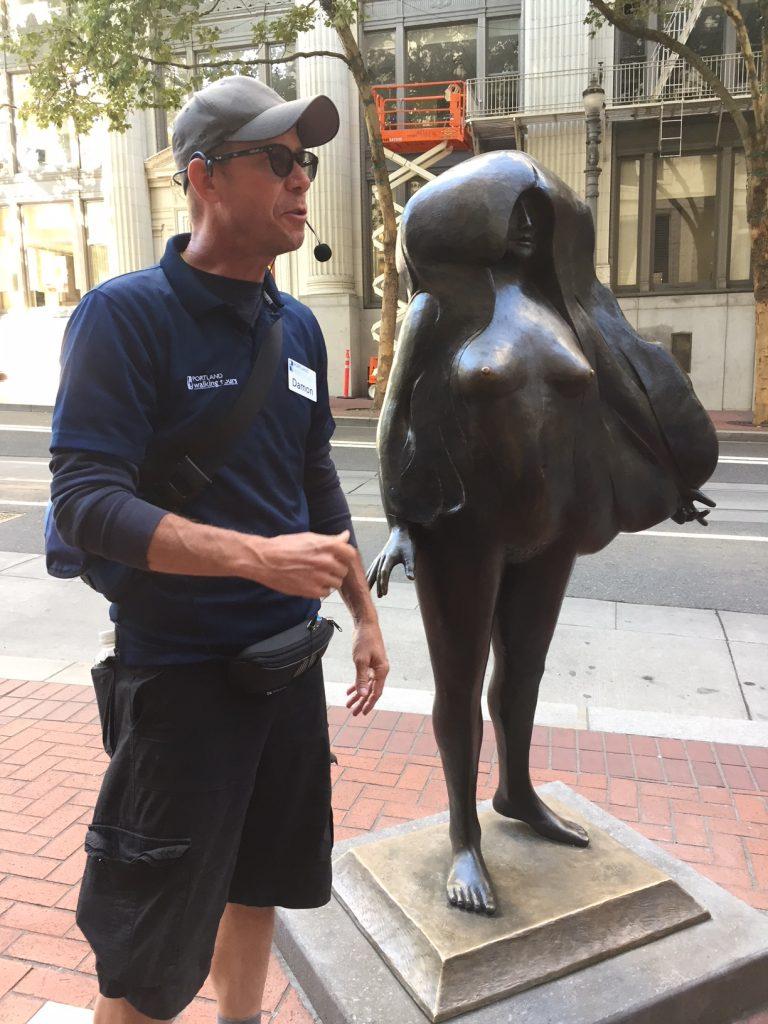downtown Portland; Portland, Oregon, Portland Walking Tours