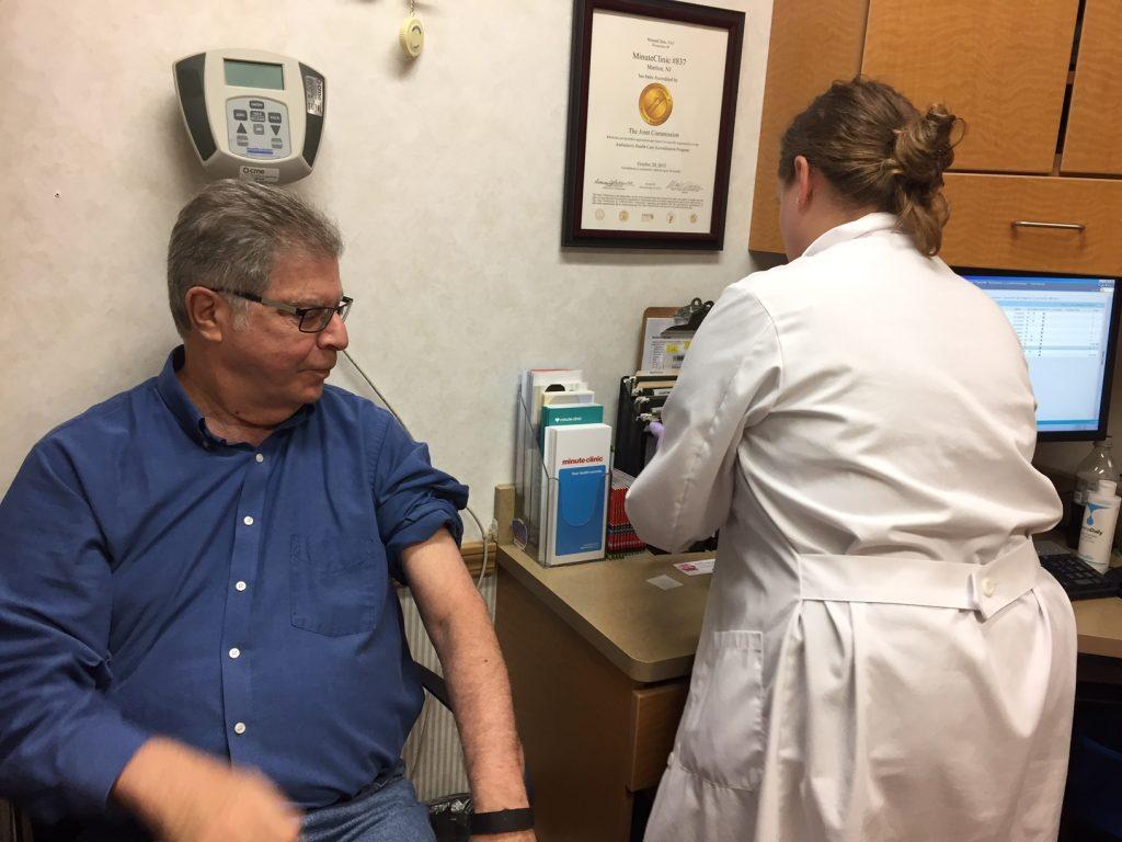 CVS Pharmacy; MinuteClinic; flu shot; influenza; flu prevention