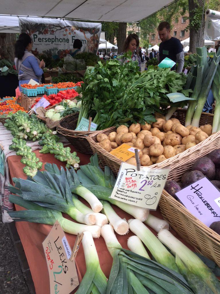 PSU Farmer's Market; Portland Farmers Markets; Portland, Oregon