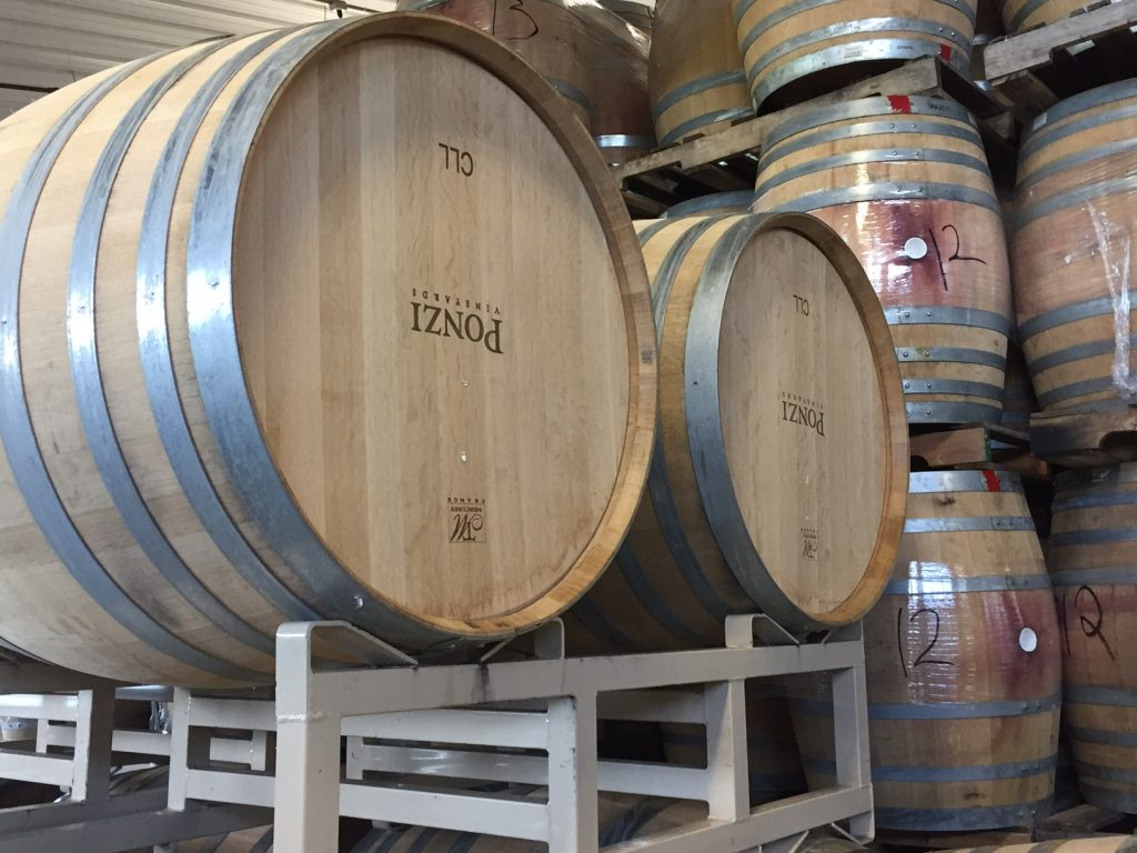 Ponzi Winery; The Tualatin Valley; Willamette Valley Wine Region; Oregon wines; boomer travel