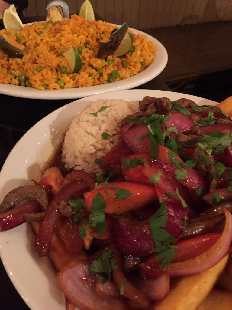 Yellow Llama; Peruvian food; The Tualatin Valley; Oregon; boomer travel